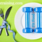 Fit Food And Fitness-Exercise and Healthy Nutrition